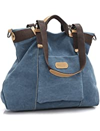 Women's handbag,LOSMILE Canvas large Totes Shoulder Bag Hobo Bags.