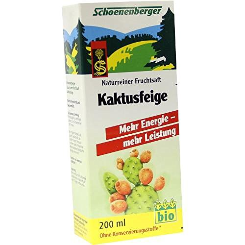 Kaktusfeige Saft (Kaktusfeige Saft bio Schoenenberger 200 ml)