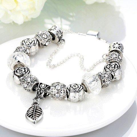Fleur Antique pearl bracelet bracelet argent femme antique Palace premier cadeau à la nation.