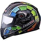 Motorcycle Helmet for Men By LS2, Multi Color