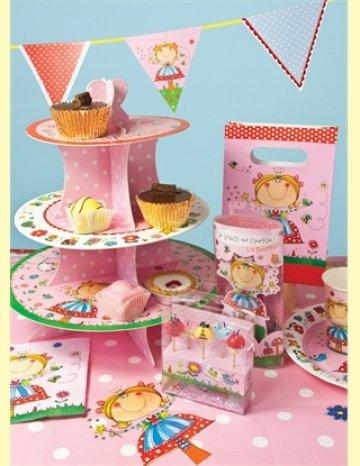 Rachel Ellen Mary The Fairy 3 Tier Cake Stand