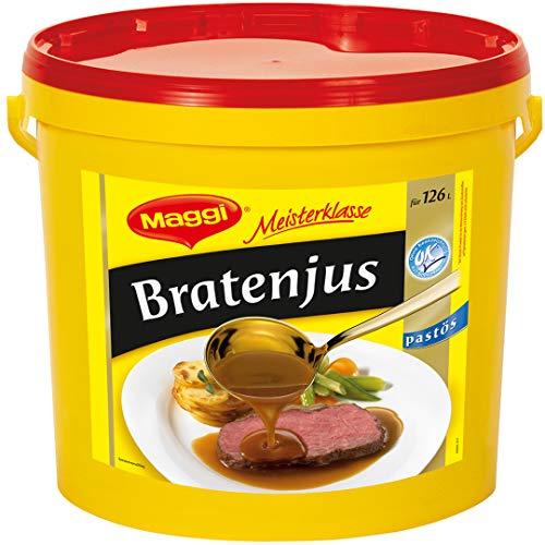 Maggi Meisterklasse Bratenjus pastös, schnell löslich, 1er Pack (1 x 12000 g)