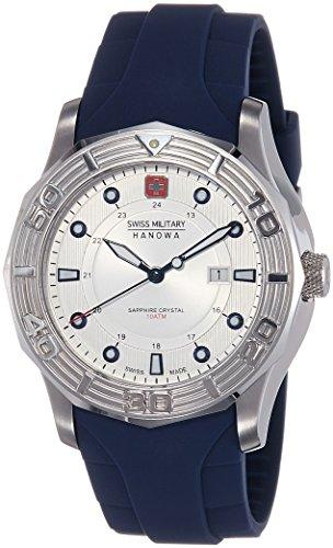 51FgYXUQvYL - Swiss Military SM10092JSNTBL/04 Silver Mens watch