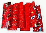 10 Rollen Weihnachtspapier Geschenkpapier 2 m x 70 cm