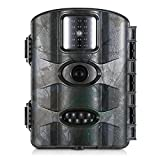 Lixada 16MP 1080P Hinterkamera, Jagd Kamera Outdoor Wildlife Scouting Kamera mit PIR Sensor Infrarot Nachtsicht 2,4 Zoll LCD Bildschirm IP66 Wasserdicht