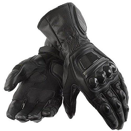 Neue Qualität Rindsleder Leder Motorrad-Handschuhe Motorcycle Gloves