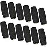 Scholl Velvet Smooth Diamond Hard Skin Remover Extra Coarse Compatible Refill Replacement Rollers (12 pack)