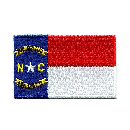 North Carolina Raleigh Amerika USA Bundesstaaten Patch Aufnäher Aufbügler 0038
