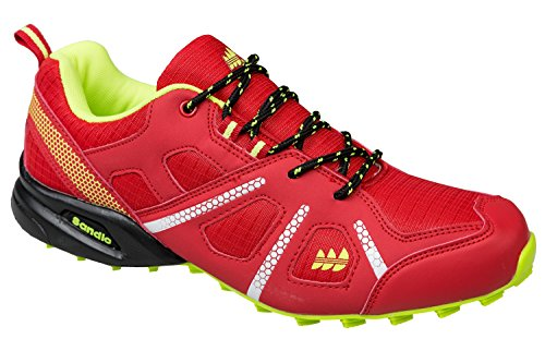 gibra, Scarpe da corsa uomo Rosso (rosso)