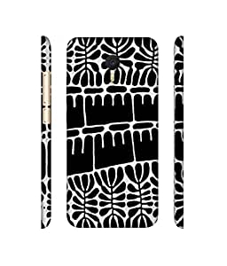NattyCase Texture Design 3D Printed Hard Back Case Cover for Meizu M3 Note