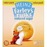 Biscottes de Heinz Farley réduit sucre 4mois + (18 par paquet - 300g) -
