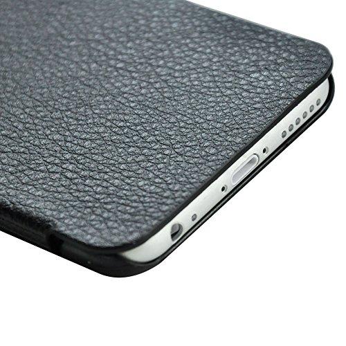 """D9Q Flip Deluxe Case UltrThin PU Leder Handy Cover Skin Hülle für iPhone 6 4,7"""" Versand mit Tracking Nummer und kostenloses Geschenk !!Blau"""