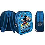 Star Disney Mickey Mouse & ‿Friends Art Code- 48550, Sac à Dos Imprimé Fin 3D Dimension 26,5 x 10 x 31 cm