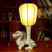 ZHGI Tabella cinese lampade, lampade da comodino, antichi camera da