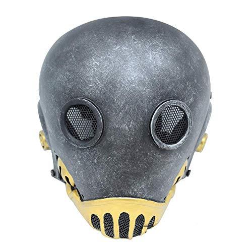 or Hellboy Uhrwerk Maske Hell Jazz CS Feld FRP Schutz Augenmaske ()