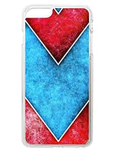 iPhone 6 Plus Cases & Covers - Chevron Arrows - Very Trendy - Designer Printed Hard Shell Transparent Sides