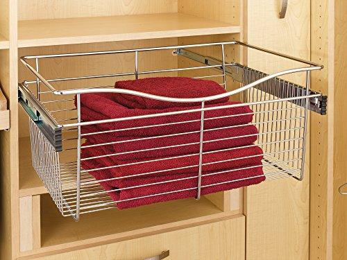 Rev-A-Shelf Closet Korb sowie einen Satin/Nickelfarben (Pull-out-körbe)