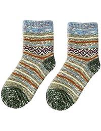 Männer Frauen Soft Baumwolle Buchstabe Gestreift Mittlere Strümpfe Winter Socken