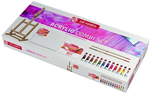 Talens Art Creation -   Acrylfarbe Kombi-Set 12 X 12 ml