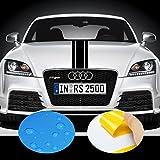 ADATECH Vinile adesivi strisce Dimensione 130 CM Universale...