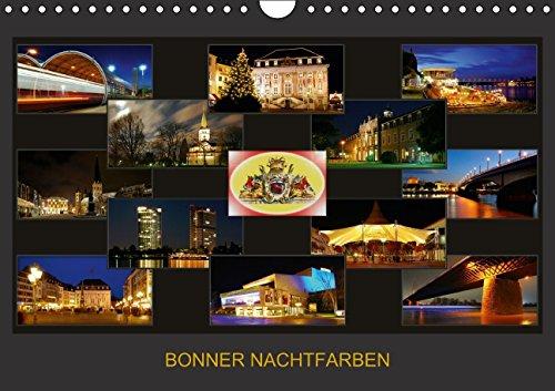 Bonner Nachtfarben Wandkalender 2015 D por Bonn  Braschi