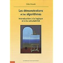 Les démonstrations et les algorithmes - Introduction à la logique et à la calculabilité