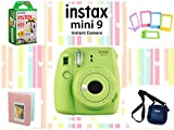 #2: Fujifilm Instax Mini 9 Joy Box with Instant Camera (Lime Green)