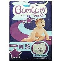 Bumtum Baby's Cotton Medium Diaper Pants (36 Count)