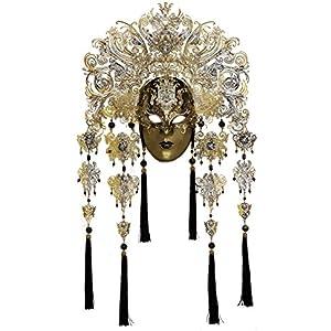 La Fucina dei Miracoli, Venezianische Maske Aus Pappmaché