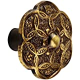 Hobknobs Small Ornate Antique Brass Cabinet/Drawers Wardrobe Kitchen Pull Handle Knob