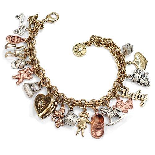 Sweet Romance Vintage Mütter Erinnerungen Baby Charme Armband
