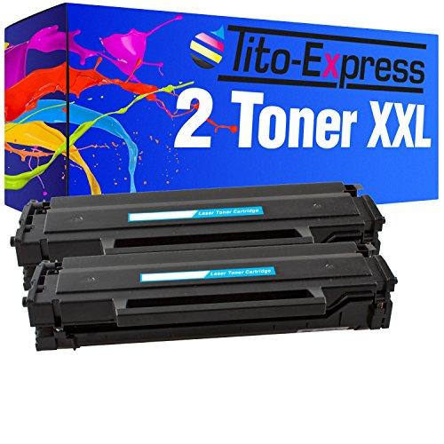 PlatinumSerie® 2x Toner XL kompatibel für Samsung MLT-D101S Black ML-2161 ML-2162 SCX-3400 Series SCX-3401 SCX-3405 (Refill Samsung Laser Toner)