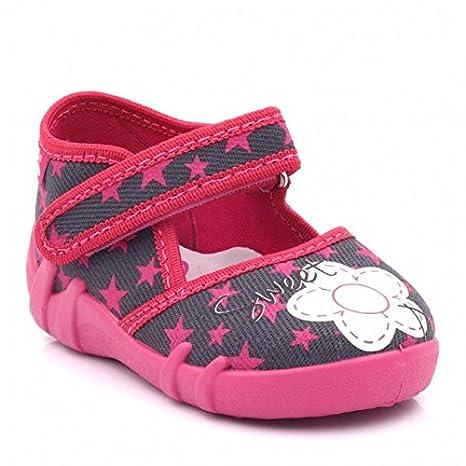 Baby Comfort , Chaussures premiers pas pour bébé (fille) UK 3 / EU 19