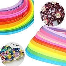 160 Tiras Colored Quilling Paper Craft Herramienta Bricolaje (3*390MM(22Color))