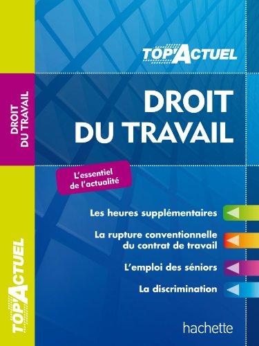 TOP'Actuel - Droit du travail 2013/2014