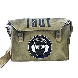 Laut, recycling Tasche, oliv