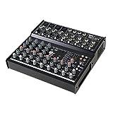 Invotone MX12FX 12-Kanal-PA- und Studio -Mischpult PA-Mixer (24-Bit DSP Effekteinheit, 4 x XLR, AUX,