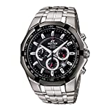 Casio Edifice Chronograph Black Dial Men's Watch-EF-540D-1AVDF (ED371)