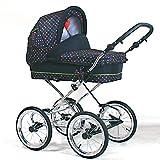 Wunderschöner Retro Kinderwagen Babywagen 3in1 giullietta (K104)