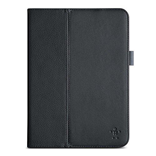 Belkin Multitasker Pro Folio (Standfunktion, magnetverschluss, Auto-wake, geeignet für Samsung Galaxy Tab 4 bis (10,1 Zoll) schwarz