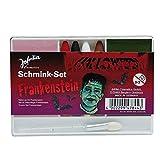 "'""Frankenstein Halloween make up Kit (4colori con pennello–base + abschminke) Theater qualità"