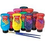 Berol Cromar Farben transparente Malfarbe 500ml Metallic Sortiment 10 verschiedene Farben sortiert (Perlmutt) 24410