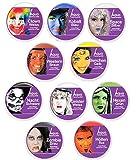 KarnevalsTeufel Aqua-Schminke in Theaterqualität, verschiedene Farben (Clown Weiß)