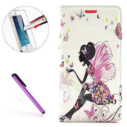 Galaxy Note 5Custodia a portafoglio, il [farfalla