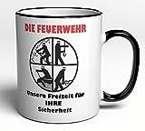 Tasse Feuerwehr - ideales Geschenk/Geschenkidee für jeden Feuerwehrmann