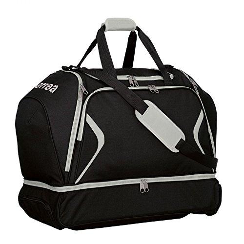 Luther Trol Borsa da viaggio XL · Universal Trolley da viaggio con scomparto portascarpe, Nero - grigio, Taglia unica