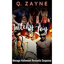 Witchy Toy: Menage Halloween Romantic Suspense (All the Men Book 5)