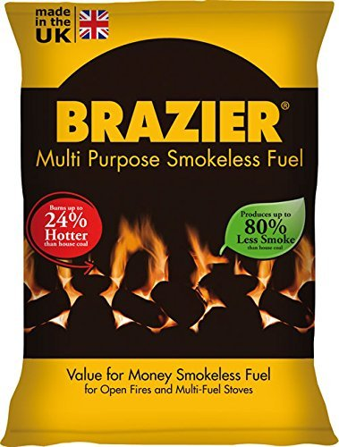 CPL brasero para Barbacoa sin Humo carbón 20kg