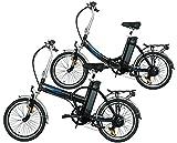swemo Ein Paar (2 Stk.) 20 Zoll Alu Klapp E-Bike/Pedelec SW100 & SW200 Neu (Schwarz)