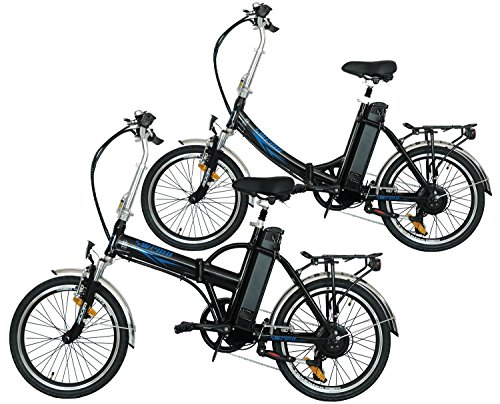 swemo EIN Paar (2 STK.) 20 Zoll Alu Klapp E-Bike/Pedelec...